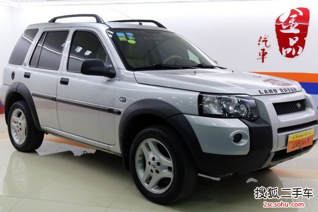 路虎神行者22004款Freelander 1.8i Station Wagon 点击看大图