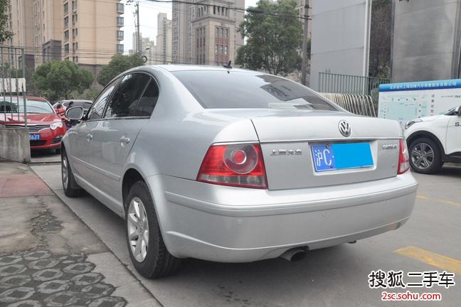 上海-大众帕萨特领驭2007款07款 2.0 自动标准型