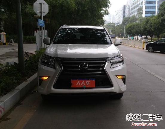 深圳二手雷克萨斯gx2014款400 尊贵版 75万元 5566986