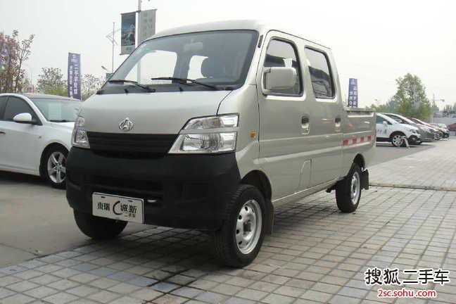 潍坊-标致商用长安星卡1手动双排驾驶室2012年308长安图片
