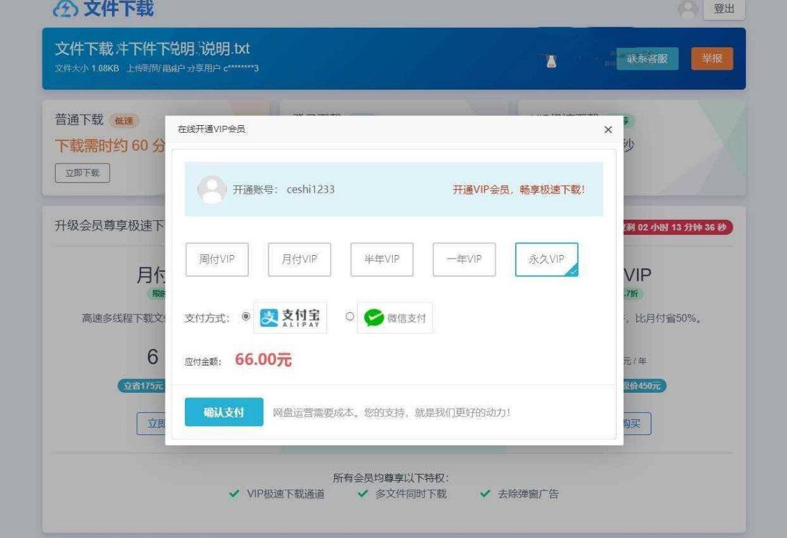 仿蓝奏/城通/百度/闪客网盘页面网盘赚钱系统源码